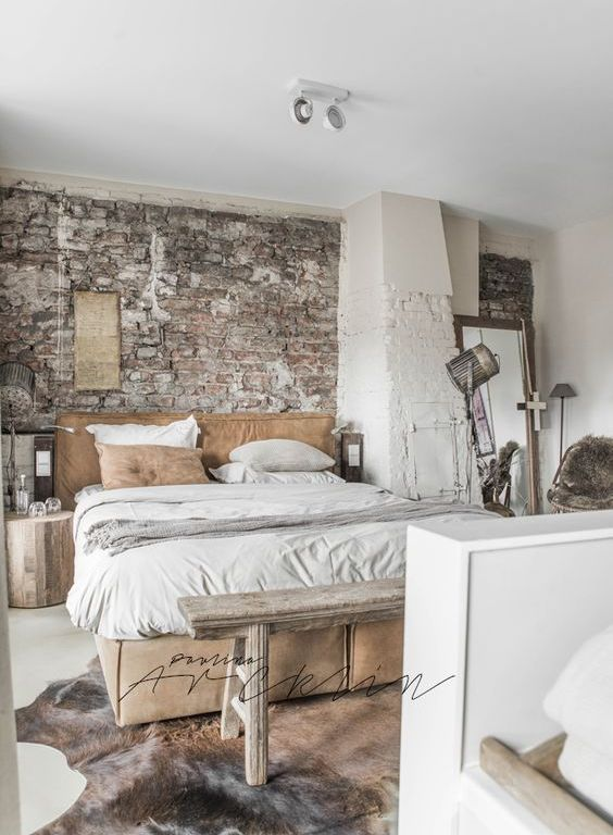 Industrial Bedroom Decor – Little Mill House