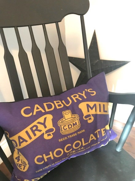 cadbury cushion