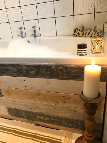 candles&bath