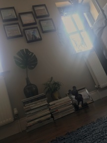 magazines&rug
