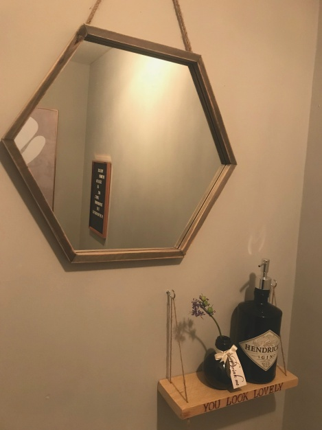mirror&shelf