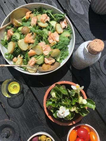 salad&plantflatlay